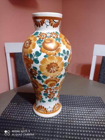 Duży wazon fajans Włocławek