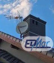 Sprzedaż i usługi montaż anten sat tv naziemnej