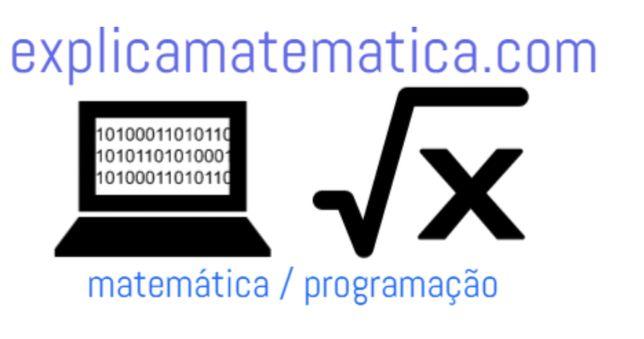 Explicações de matemática Explicações de programação
