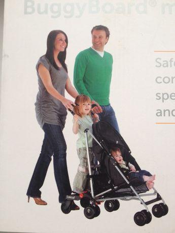 Подножка для второго ребенка Lascal buggy board mini