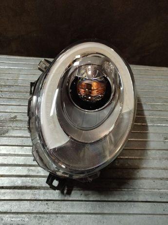 Farol Esquerdo Mini F54 F55 F56 F57 LED Clubman Cooper One Cabrio 7494877 óptica ótica esquerda