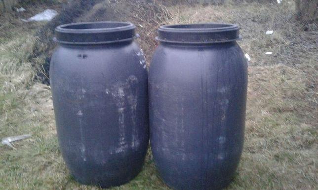 Beczki plastikowe beczka 200 litrów