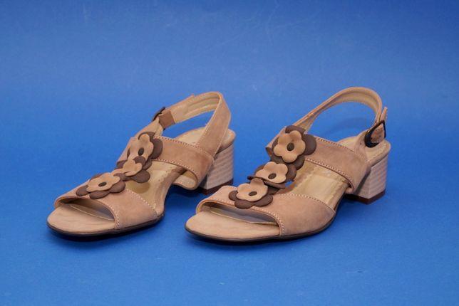 VANESSA - Sandały damskie na obcasie, rozmiar 36