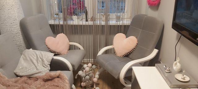 Dwa fotele i wersalka styl Agata meble jak nowe