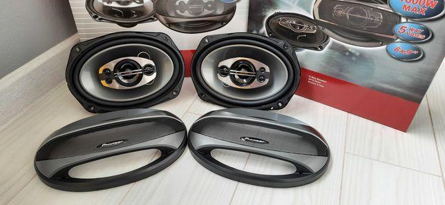 Автомобильная акустика Pioneer овалы 600/1000w динамики колонки в маши
