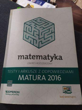 Matematyka zakres rozszerzony Matura 2016