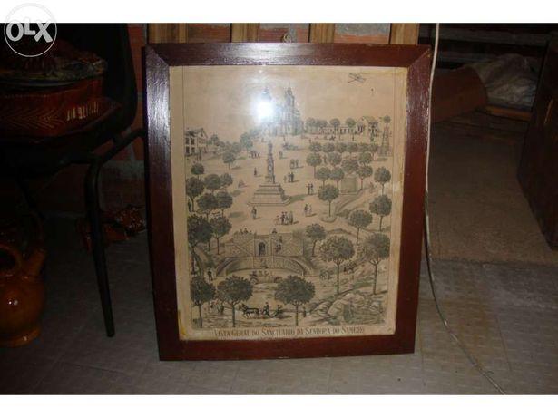 Quadro antigo com assinatura do pintor