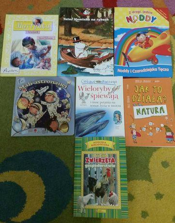7 książeczek dla dzieci edukacyjne i bajki.
