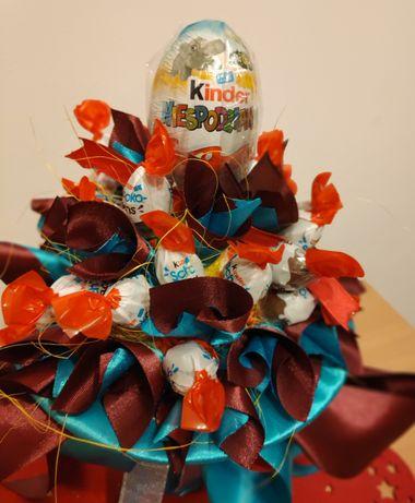 Słodki bukiet, Prezent, bukiet z cukierków urodziny, niespodzianka