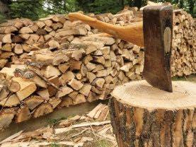Рубаю дрова механічним методом