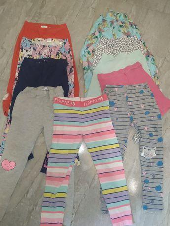 Летние лосины, штаны и шорты для девочки
