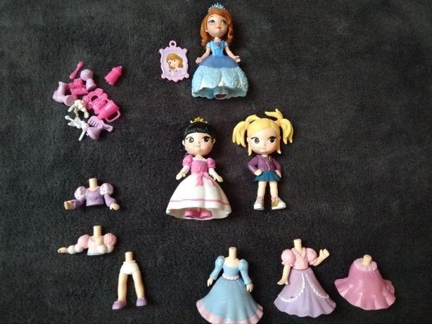 Laleczki rozkładane zestaw plus księżniczka Zosia
