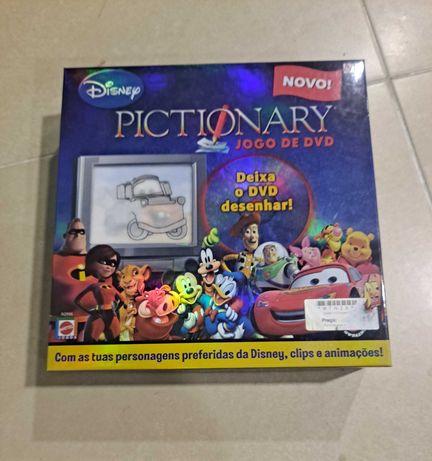 Jogo PICTIONARY Edição Disney Dvd NOVO