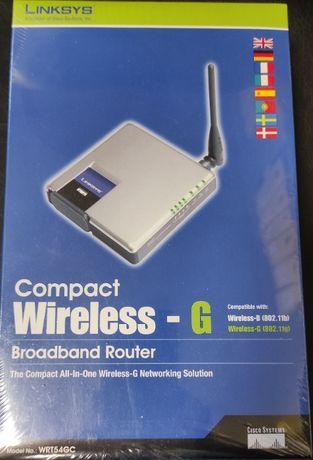 Router Linksys WRT54GC Compact (embalado) NOVO