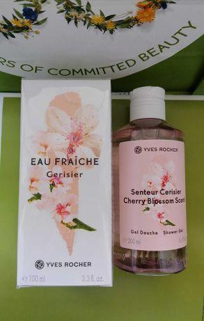 Набор Вишневый Цвет Ив Роше Туалетная вода + Гель для душа Yves Rocher