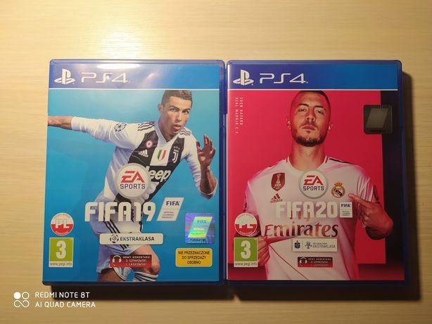 Sprzedam FIFA20/19