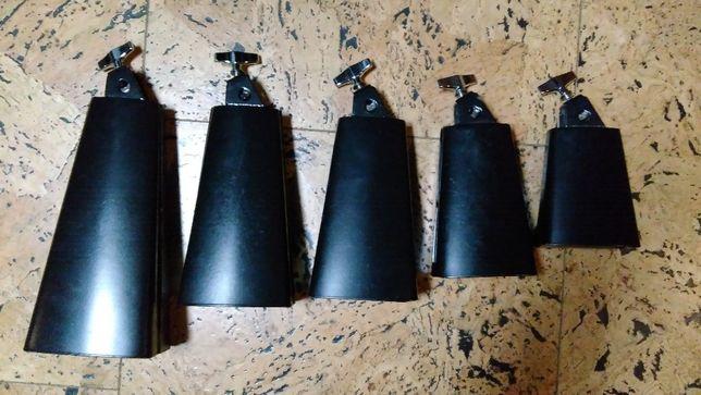 Instrumentos de percussão-Conjunto de chocas (Cowbells)