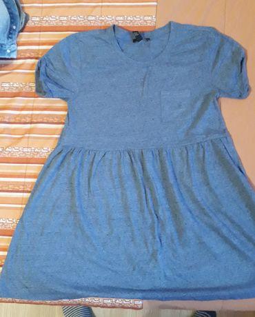 Niebieska sukienka forever 21 rozm. M