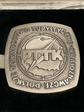 Medal PTTK Za Pomoc i Współprace 1976. Mennica Państwowa