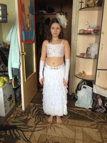 Восточный костюм для девочки 10-11-12лет! Очень нежный! состояние!