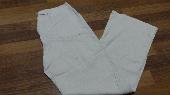 spodnie lniane damskie