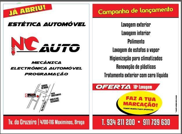 Lavagem auto ao melhor preço/qualidade, apenas 10€