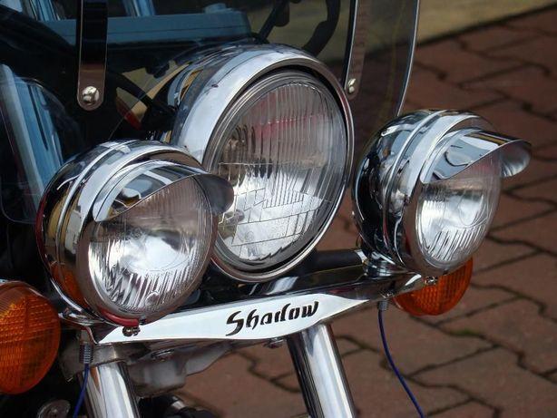 Lightbary Honda Shadow VT 125 duże lampy