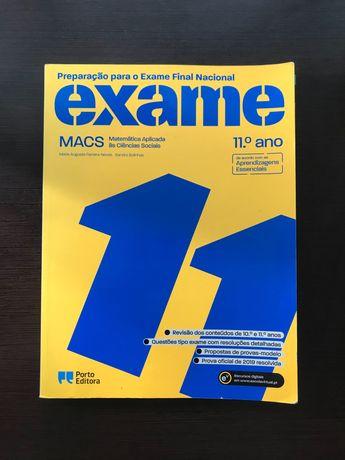 Livro de Preparação Exame Nacional MACS 11