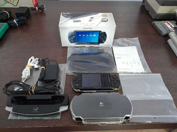 Sony PSP Value Pack JPN em caixa
