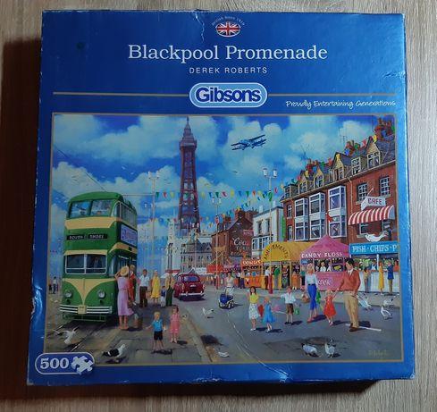 Sprzedam puzzle Gibsons 500 elementów