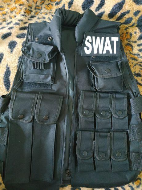Разгрузка SWAT для игры в страйкбол/лазертаг