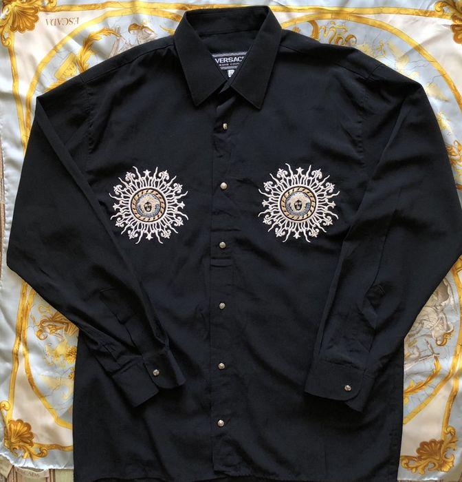 Винтажная рубашка versace jeans couture Харьков - изображение 1