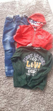 Spodnie bluzy H&M 140