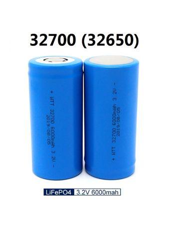 Аккумулятор LiFePo4 32700 32650 6000 mAh мАч 6Ah 6Ач 3,2В 3.2V лифер