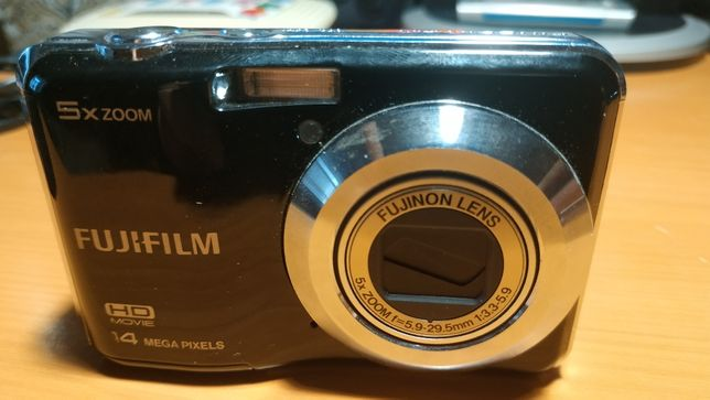 Фотоаппарат Fujifilm AX500+чехол+USB кабель