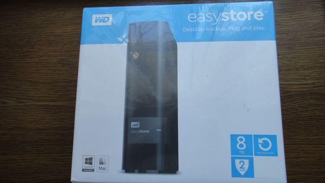 НОВИЙ WD EasyStore Western Digital WD RED 8TB WD80EFAX