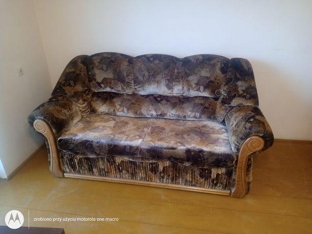 Komplet wypoczynkowy kanapa + fotel
