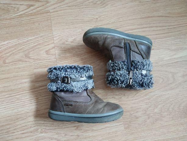 Демисезонные ботинки primigi goretex на девочку, стелька 14 см
