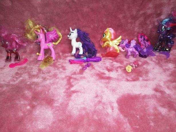 Kucyki pony-figurki