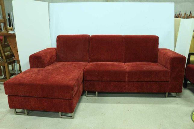 Sofá Chaise Longue Vermelho