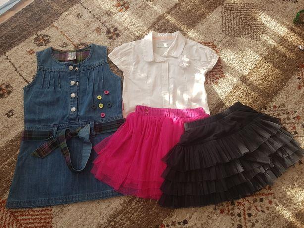 Zestaw-sukienka, spódniczka, bluzka