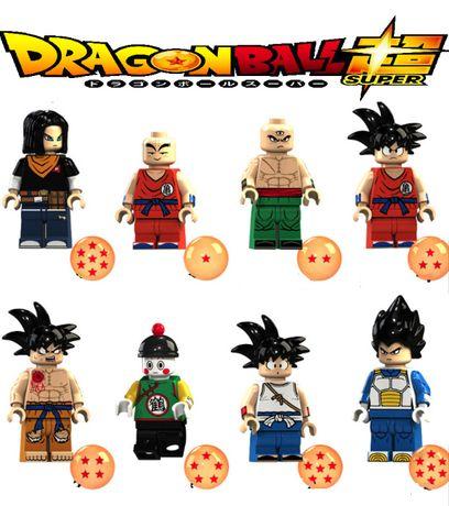 Bonecos minifiguras Dragon Ball nº1 NOVOS (compativel com Lego)