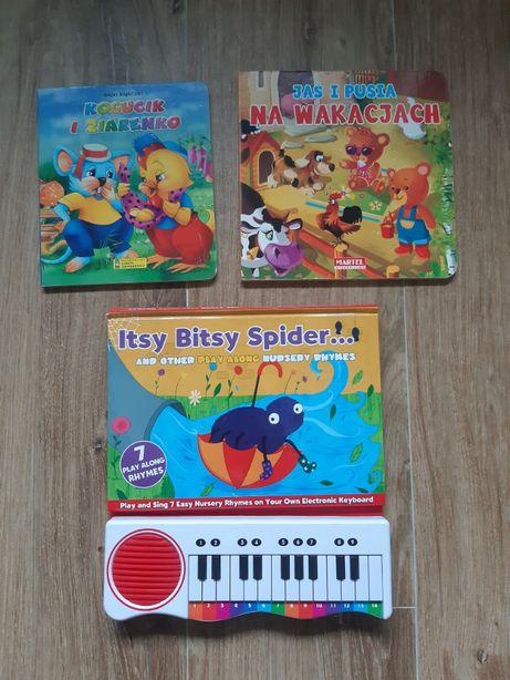 Książeczki dla dzieci różne