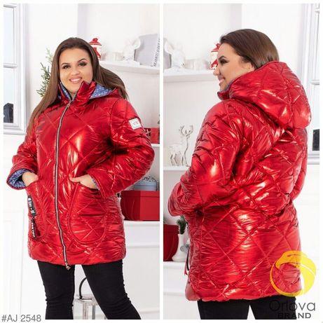 Новая зимняя курточка 56-58 р