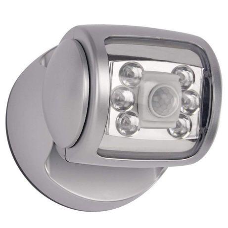 Светильники LED с датчиком движенмя
