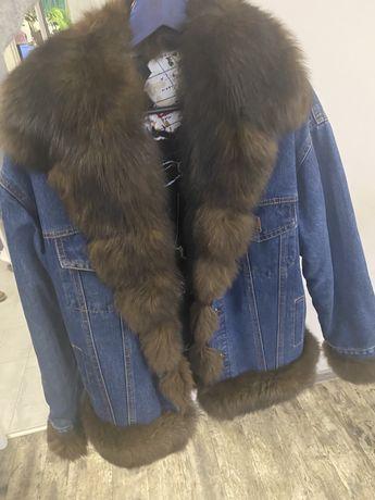 Куртка хутрова жіноча
