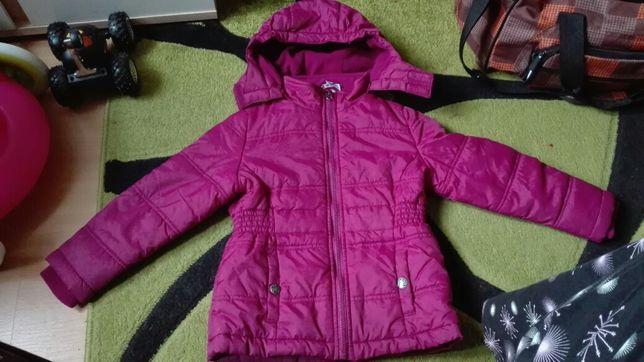 Kurtka dziewczeca 4-5 lat