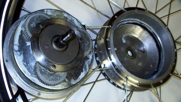 Peмoнт мотор колесо, електровелосипед