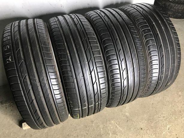 Шины бу летние 215/50R18 Bridgestone Turanza T001 17-18год как новая
