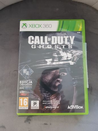 Call of duty Ghosts xbox 360 PL